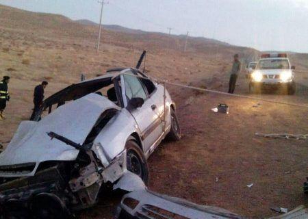 تصادف مرگبار در یاسوج ۲ کشته و یک زخمی در پی داشت