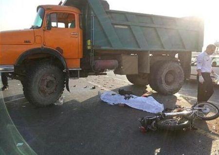 تصادف مرگبار در همدان یک کشته از خود برجا گذاشت