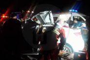 تصادف مرگبار امروز رشت بین خودرو سراتو و  کامیون ۱ نفر فوتی داشت