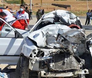تصادف مرگبار محور چادگان-اصفهان منجر به فوت کودکی 10 ساله شد