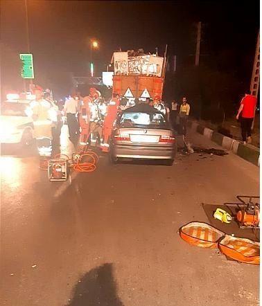 خبر تصادف مرگبار امروز در بهشت زهرا