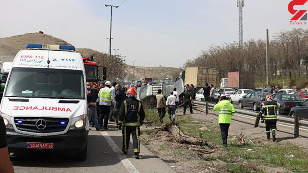 خبر تصادف مرگبار امروز در تبریز 4 کشته داشت
