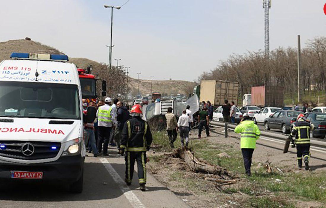 تصادف مرگبار در تبریز 4 کشته از خود برجای گذاشت