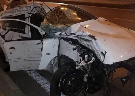 تصادف مرگبار در قائمشهر منجر به  مرگ تلخ کودک 2 ساله شد