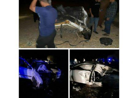 تصادف مرگبار در شوش ،بین دو خودرو و تراکتور ۲کشته و ۴مصدوم داشت