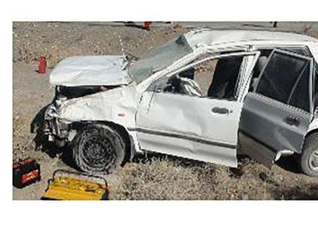 تصادف مرگبار زاهدان-خاش  3 کشته و 5 مجروح از خود برجای گذاشت