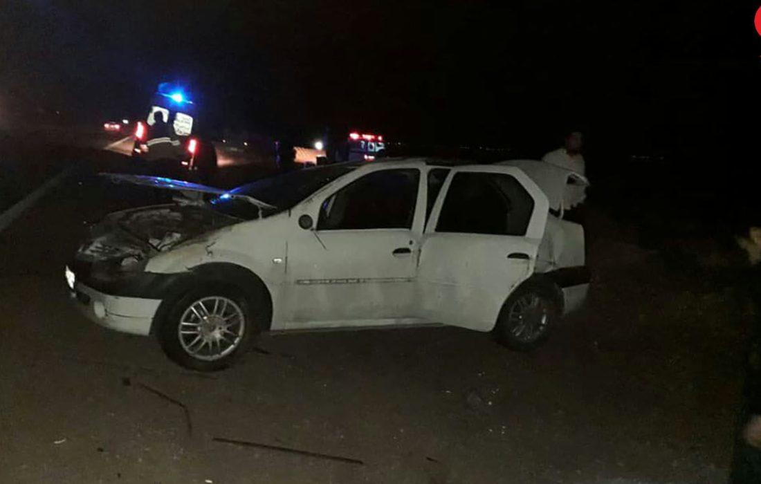 تصادف مرگبار امروز زنجان یک فوتی و یک مصدوم از خود برجا گذاشت