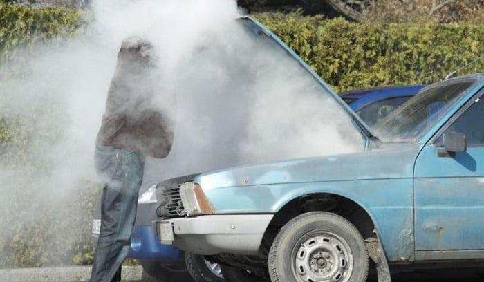 جوش آوردن ماشین به دلیل خرابی واترپمپ خودرو