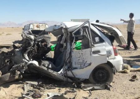 تصادف در شیراز بین دو خودرو  یک کشته و دو مصدوم داشت