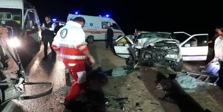 تصادف زنجیرهای در یزد بین هشت خودرو باعث بروز ترافیک شدید گردید