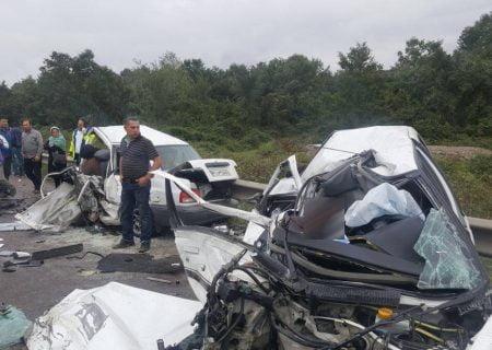 دو تصادف مرگبار پیرانشهر ۵ فوتی و ۱۳ مصدوم از خود برجا گذاشت