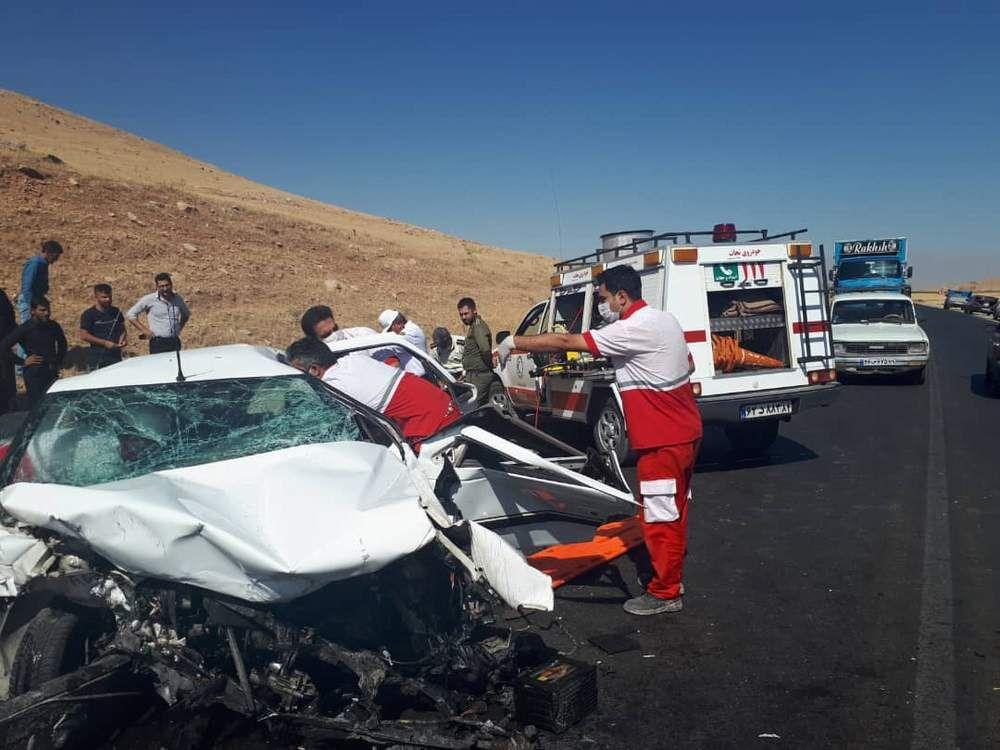 خبر تصادف مرگبار امروز محور مشهد اردهال کاشان ۲ کشته داشت