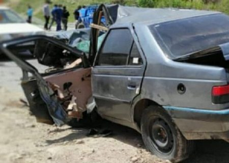 تصادف مرگبار شازند – بروجرد سه کشته برجا گذاشت