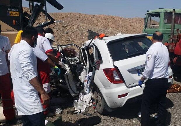 خبر تصادف مرگبار امروز اصفهان