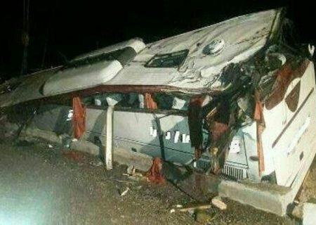 خستگی و خوابآلودگی راننده؛ دلیل واژگونی اتوبوس در محور هراز شد