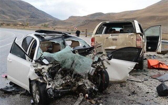 آمار کشته شدگان حوادث رانندگی
