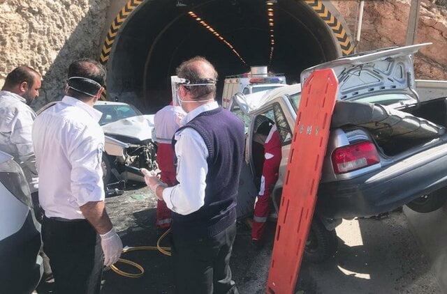 بارندگی تابستانه شیراز منجر به مصدوم شدن ۵۵ نفر در تصادفات رانندگی شد