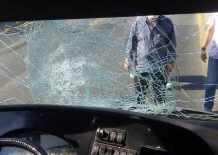 تصادف اتوبوس با عابر پیاده در پایتخت منجر به مرگ عابر پیاده شد