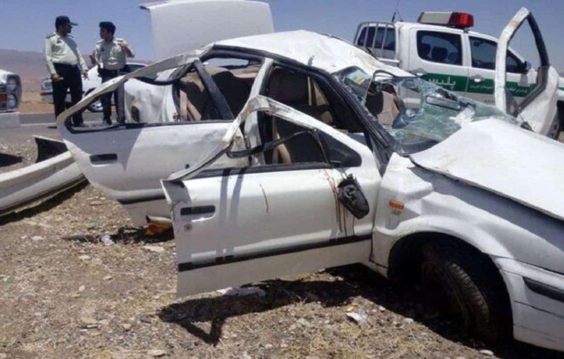 تصادف مرگبار استان مرکزی 4 نفر را به کام مرگ کشاند