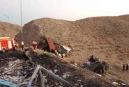 تصادف امروز تریلی با کامیون بنز در گردنه علی آباد یک فوتی داشت