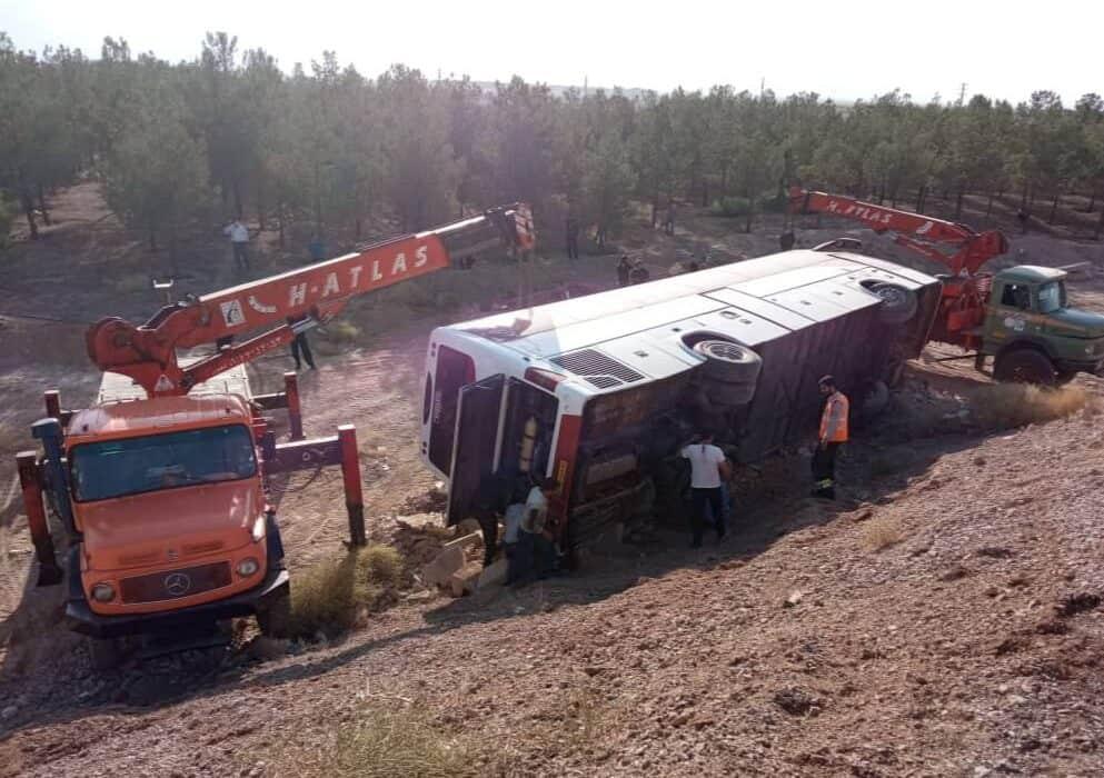تصادفات امروز در اصفهان ۳ مصدوم از خود برجا گذاشت