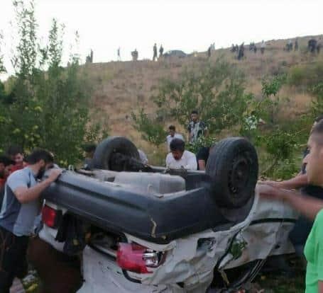 تصادف محور پیرانشهر به مهاباد 3 نفر کشته برجای گذاشت