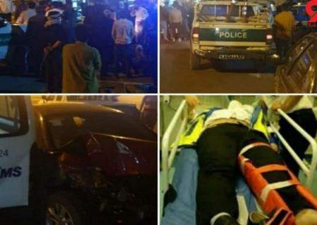 تصادف مرگبار آمبولانس و برلیانس در دماوند 14 کشته و زخمی داشت