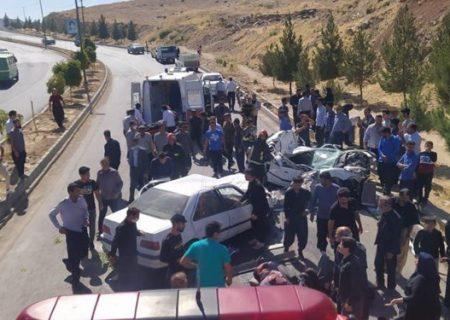تصادف امروز در کرمانشاه ۶ مصدوم از خود برجای گذاشت