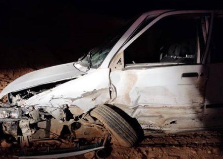 تصادف امروز در شیراز منجر به مصدومیت پنج نفر در این حادثه گردید