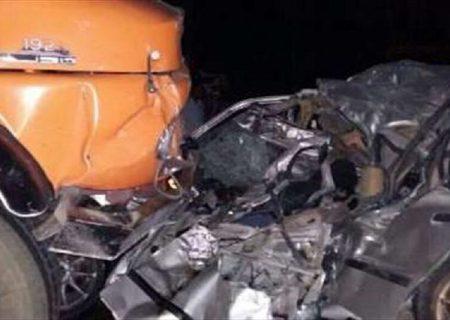 تصادف امروز محور بجنورد-آشخانه یک کشته و سه مصدوم بر جای گذاشت
