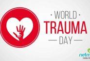 ۲۵ مهرماه مصادف با ۱۷ اکتبر روز جهانی تروما Trauma