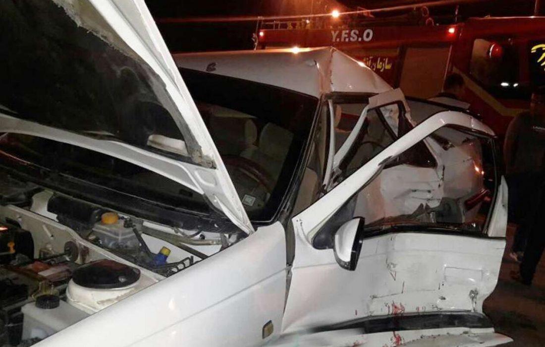 تصادف در مسیرهای زنجان سه کشته از خود برجا گذاشت
