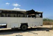 تصادف مرگبار امروز اتوبوس در محور مهاباد به اردستان