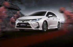 تویوتا کرولا نوربرگ رینگ را برای بازار خودرو تایلند معرفی کرد